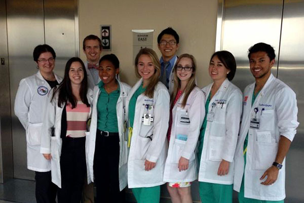 University of Florida medical students at UF Health Jacksonville